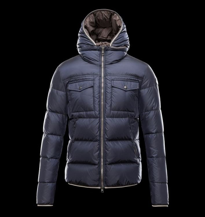 Moncler Thomas Men Jacket Blue