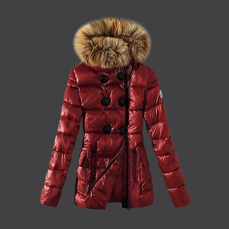 Moncler 1 Women Jacket Red