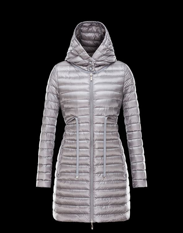 Moncler Barbel Women Jacket Silver