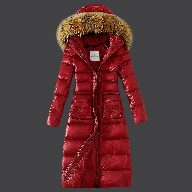 Moncler Bardane Women Jacket Red