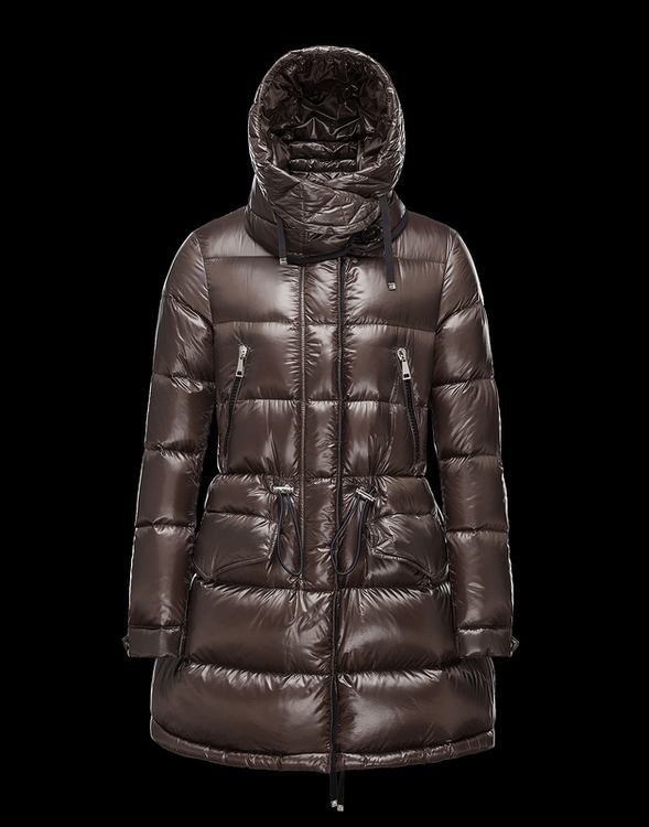Moncler Beauregard Women Jacket Brown