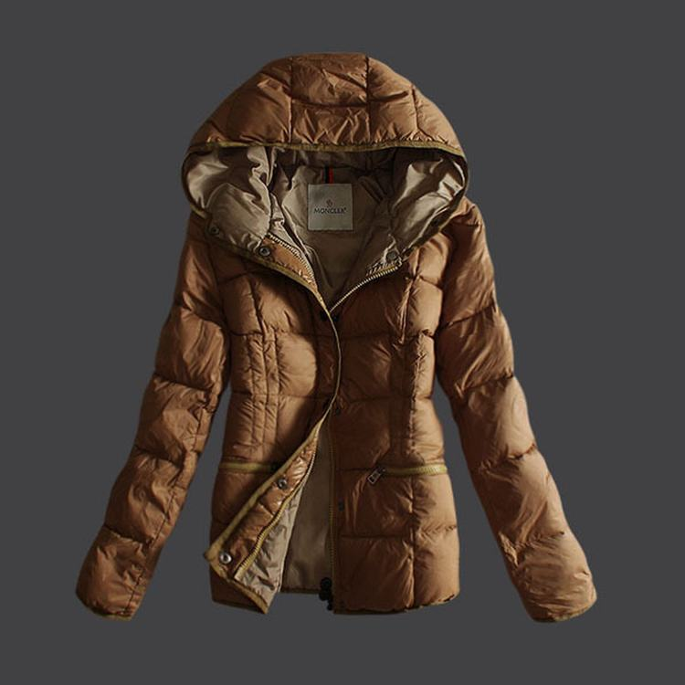 Moncler Buis Women Jacket Light Brown