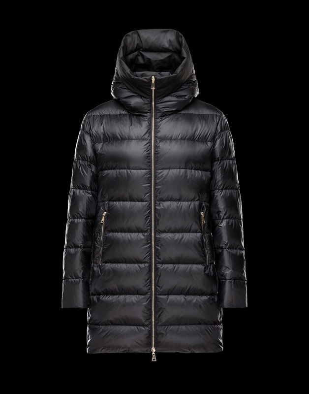 Moncler Colliers Women Jacket Wine Black