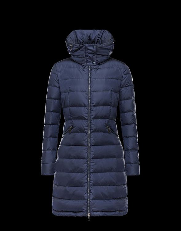 Moncler Flammette Women Jacket Blue