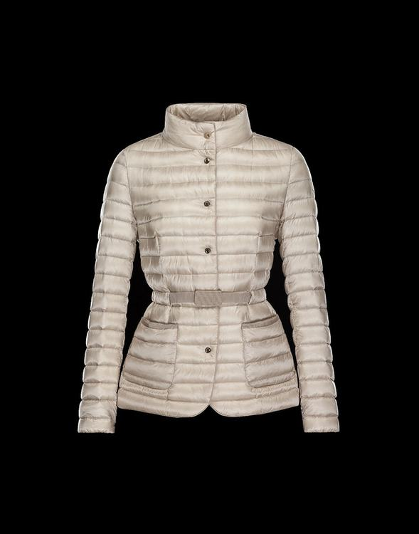Moncler Fletan Women Jacket Cream White