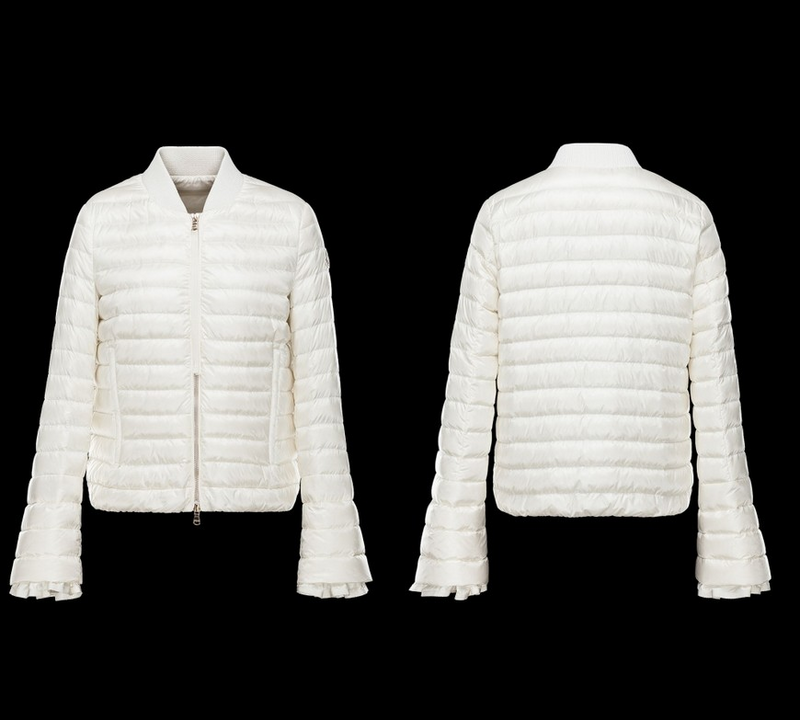 Moncler Fouler Women Jacket White