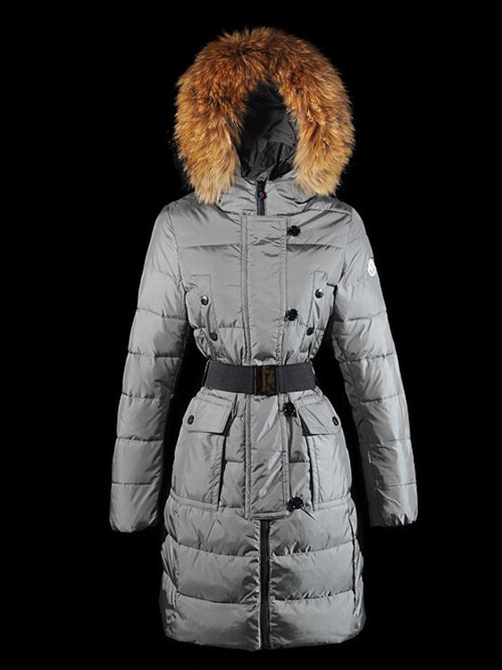 Moncler Genevrier 01 Women Jacket Grey
