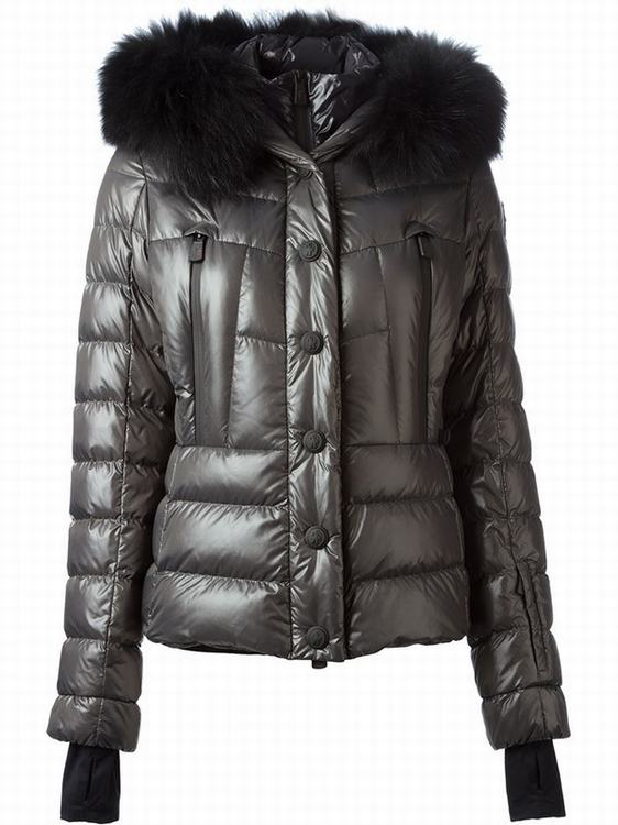 Moncler Grenoble Bever Women Jacket Grey