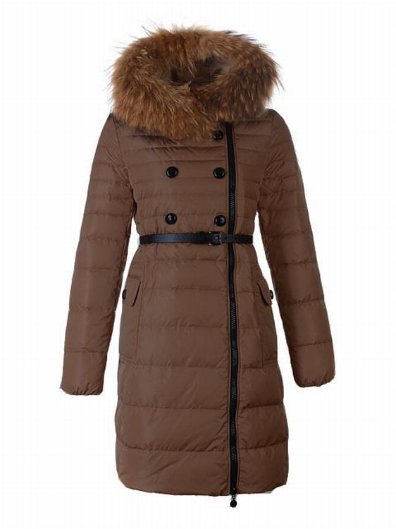 Moncler Herisson Women Jacket Dark Brown