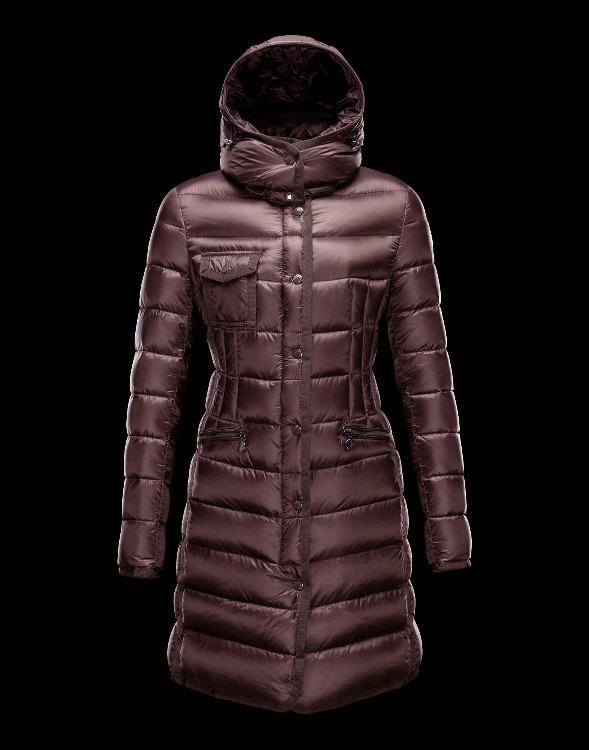 Moncler Hermine Women Jacket Wine Red