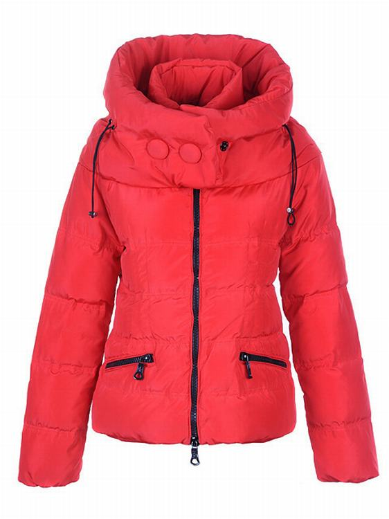 Moncler Mengs Women Jacket Red
