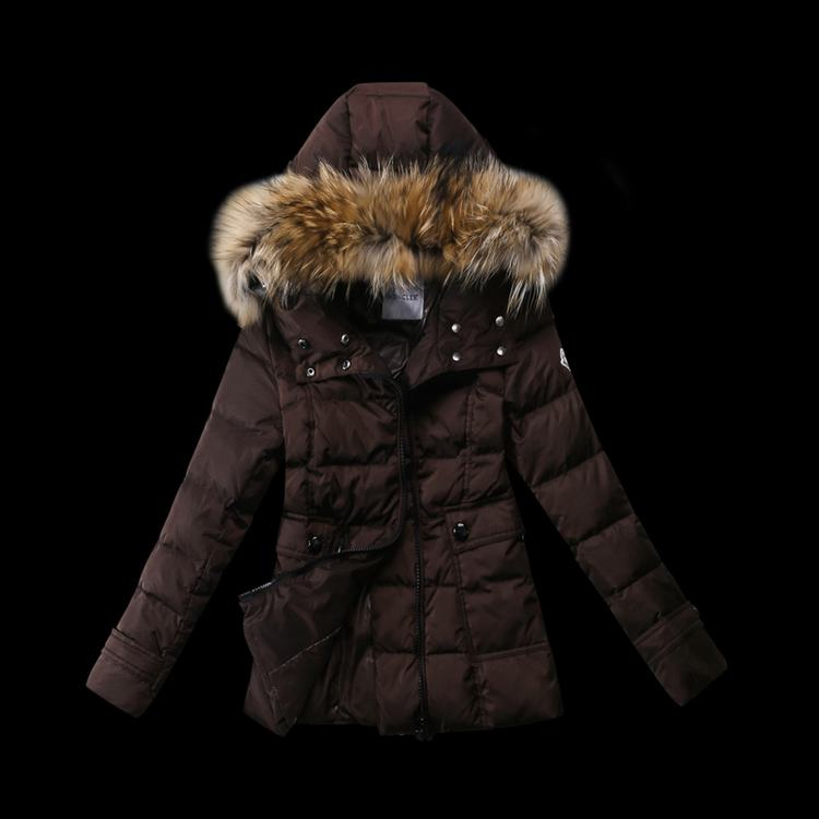 Moncler New Three Women Jacket Brown