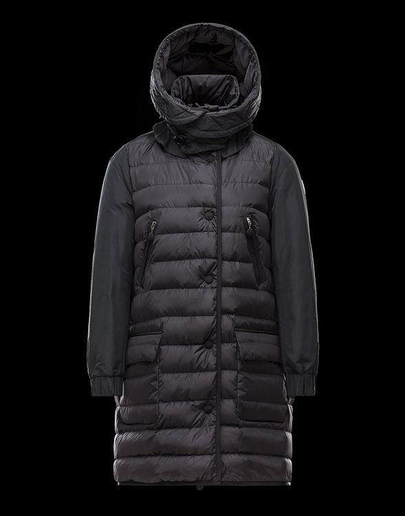 MONCLER JACKETS Women Wine Red