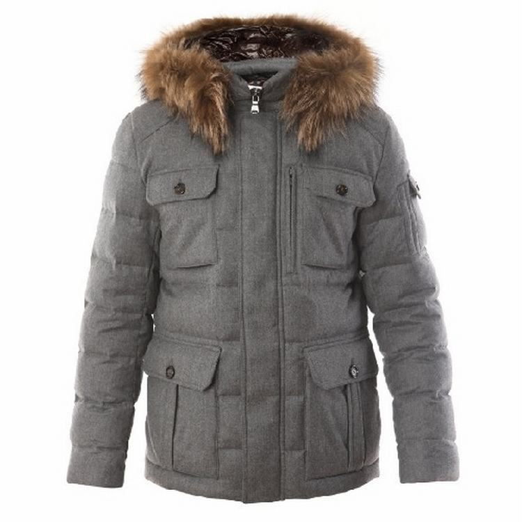 Moncler Aymon Men Gray