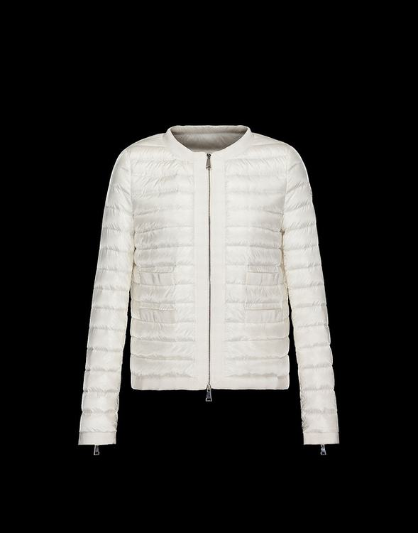 MONCLER ALOSE Men White