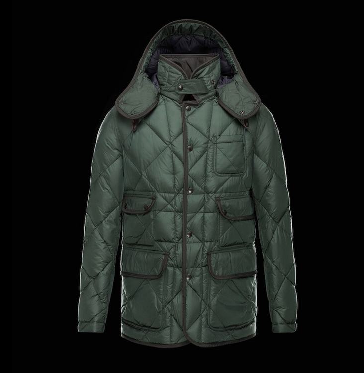 MONCLER ALPHONSE Men Green