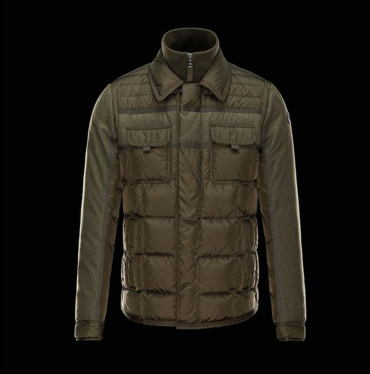 MONCLER BLAIS Men Brown