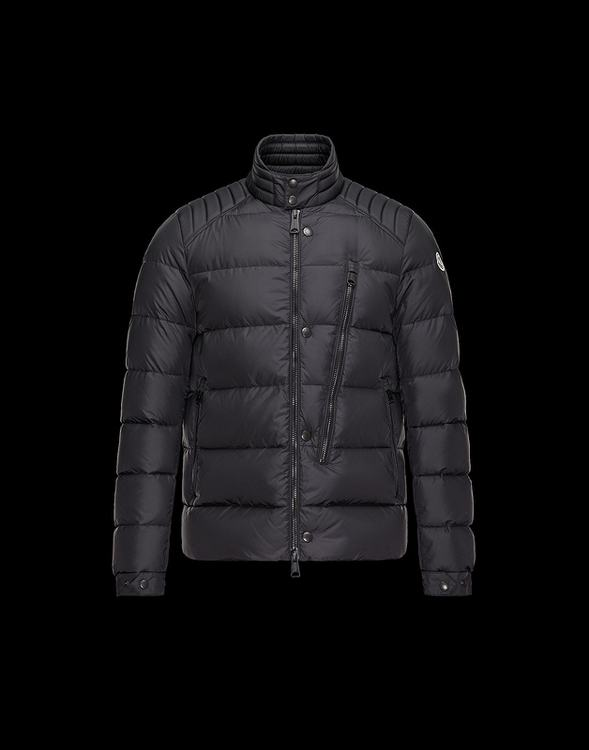 MONCLER COSTES Men Black