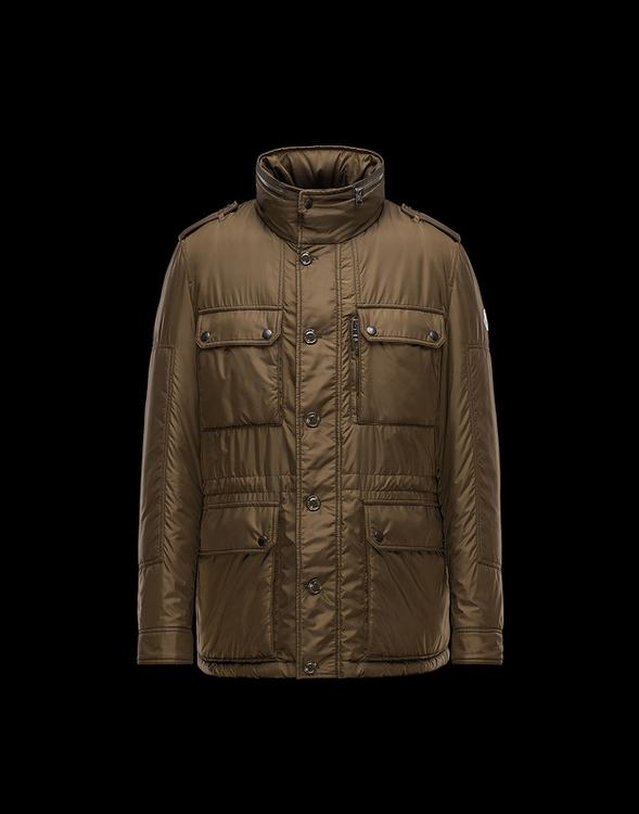 MONCLER GUILLAND Men Brown