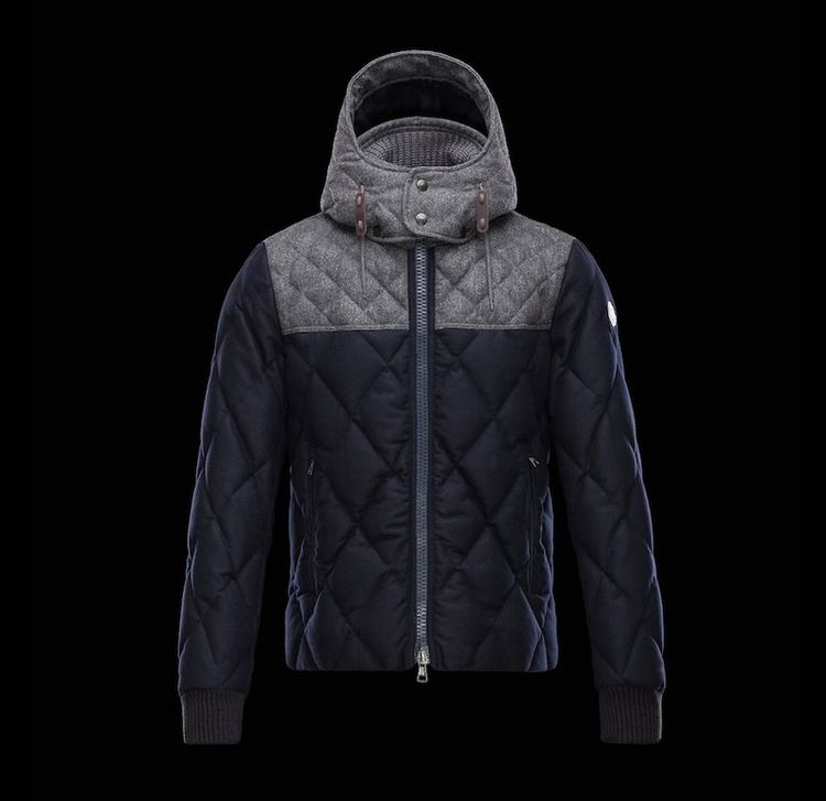 MONCLER LABASTIDE Men Gray Blue