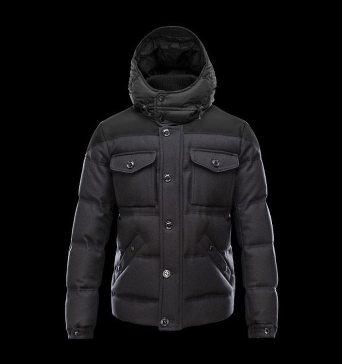 MONCLER REPUBLIQUE Men Black Blue