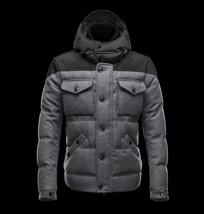 MONCLER REPUBLIQUE Men Black Gray