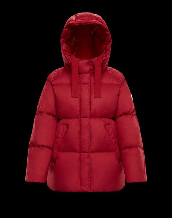 Moncler NERUM Women Down Jacket Red