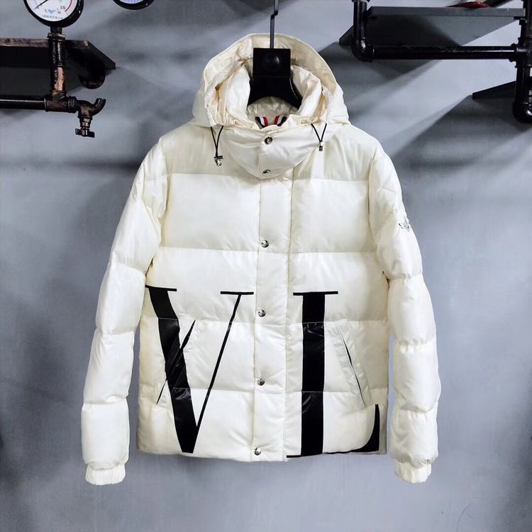 Moncler Women Down Jacket White