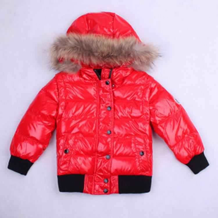 Moncler Body Warmer 03 Kids Jacket Red
