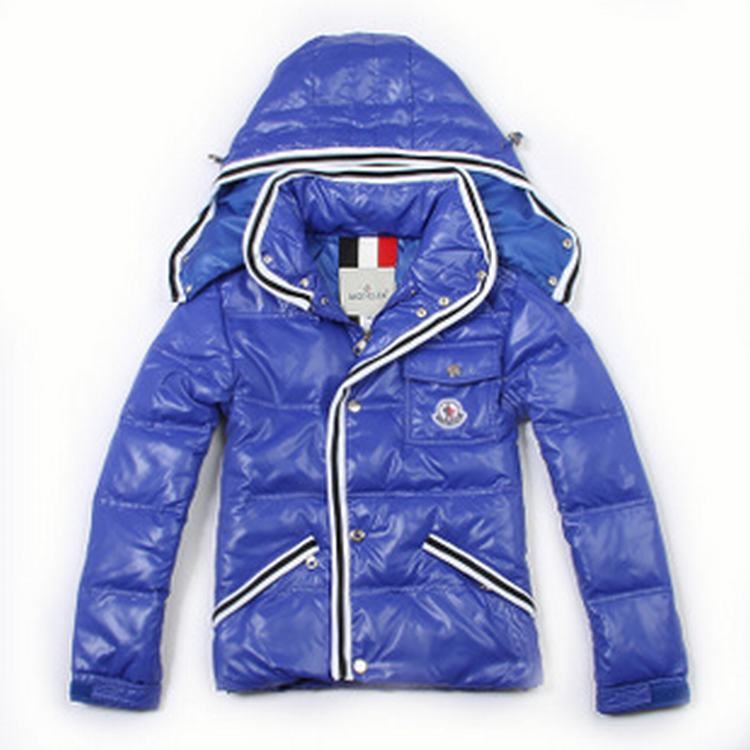 Moncler Branson 02 Kids Jacket Blue