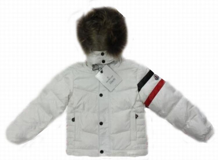 Moncler Chamonix Kids Jacket White