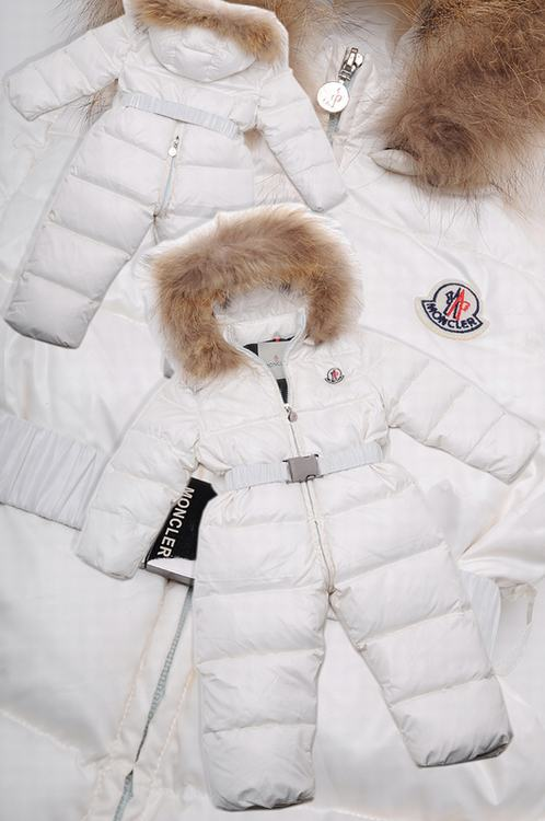 Moncler Crystal Kids Jacket White