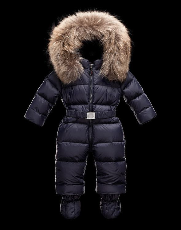 Moncler Crystal Kids Suits Blue