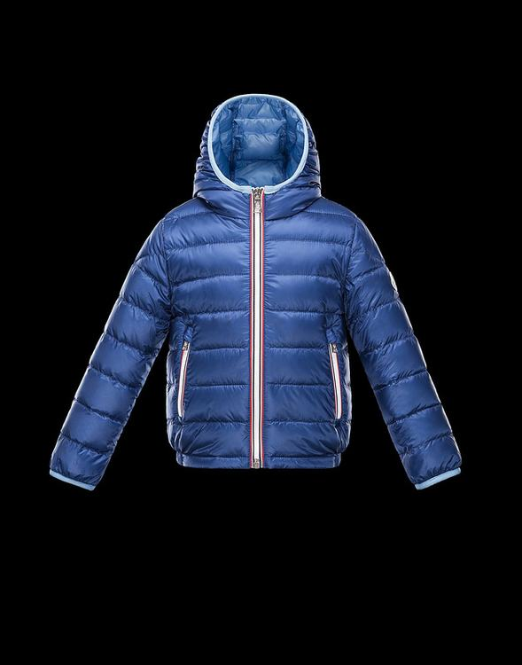 Moncler Enfant Athenes Kids Jacket Blue