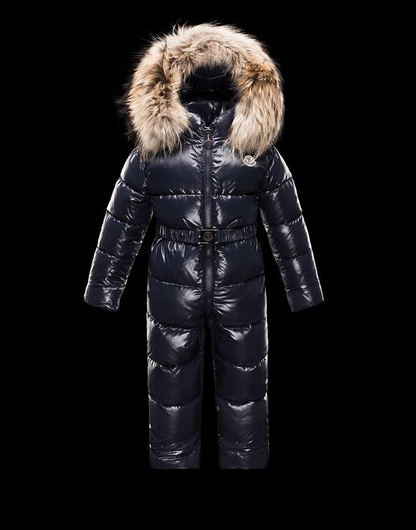 Moncler Enfant Crystal Kids Suits Dark Blue