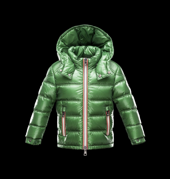 Moncler Enfant Gaston Kids Jacket Grass Green
