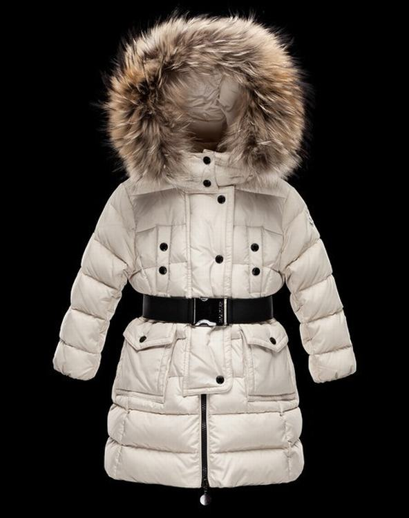 Moncler Enfant Genevrier Kids Jacket White