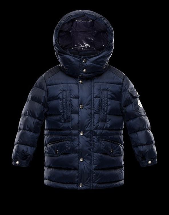 Moncler Enfant Herbert Kids Jacket Navy Blue