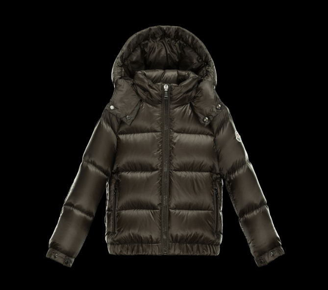 Moncler Enfant Jourdan Kids Jacket Green Brown