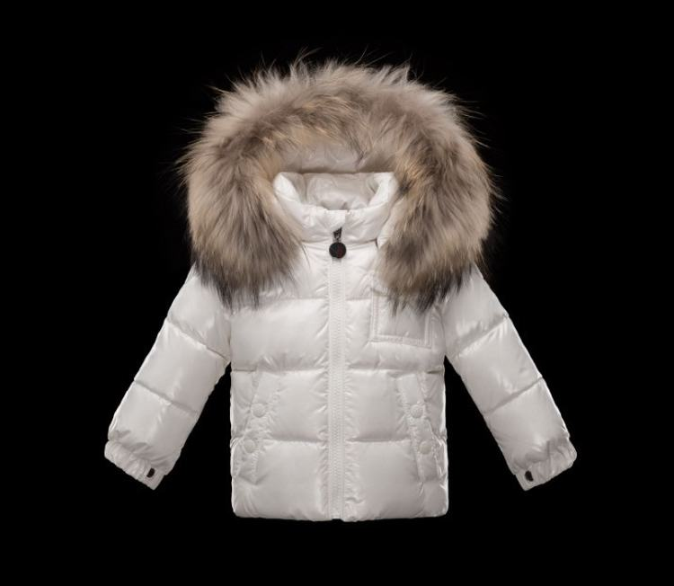 Moncler Enfant K2 Kids Jacket White