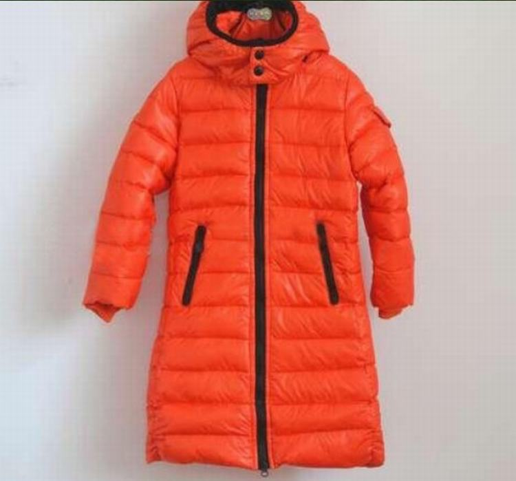 Moncler Enfant Moka Kids Jacket Orange