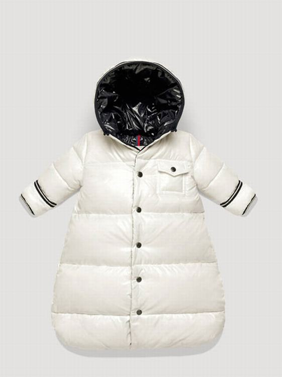 Moncler Enfant Sac Kids Jacket White