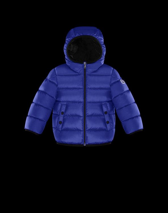Moncler Enfant Serge Kids Jacket Blue
