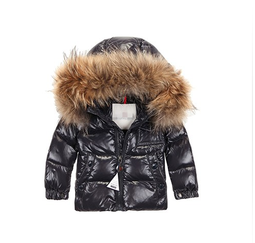 Moncler Jonas Kids Jacket Dark Brown