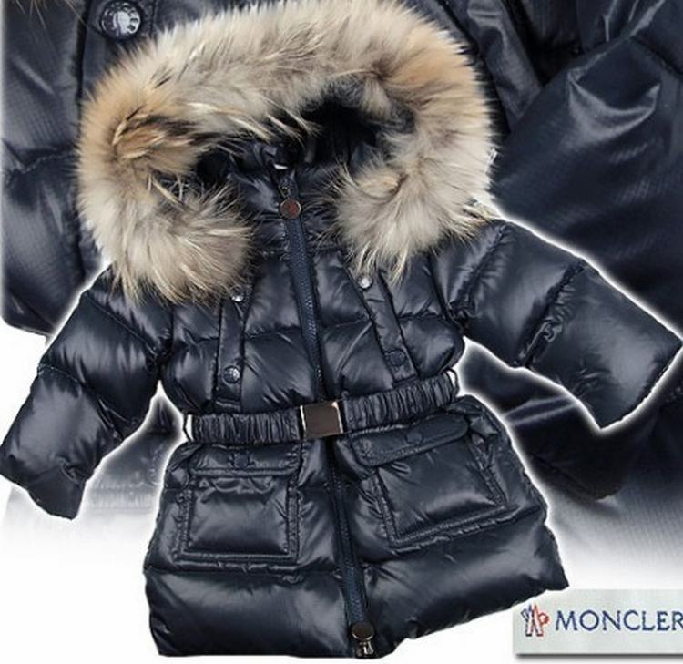 Moncler K2 Kids Jacket Dark Blue