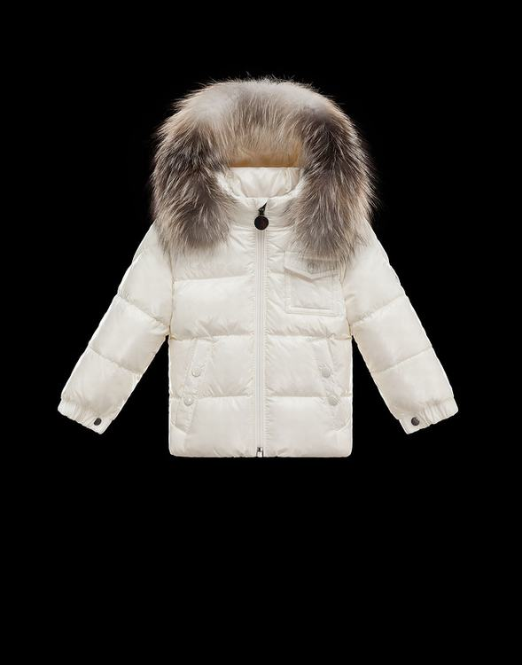 Moncler K2 Kids Jacket White