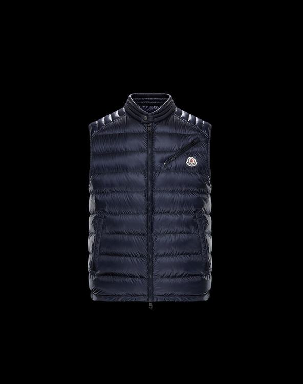 MONCLER ARV Men Vest Blue