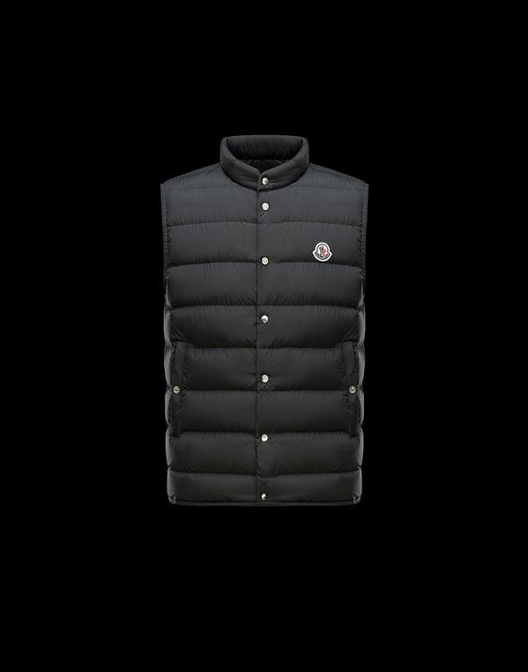 MONCLER FEBE MEN VEST Black