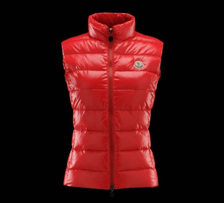 MONCLER GHANY Women Vest Red