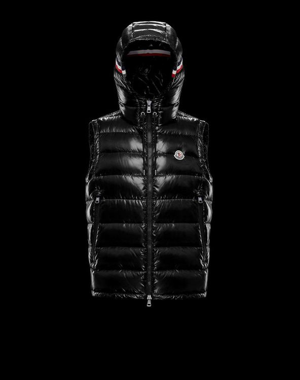 MONCLER LANOUX Men Vest Black